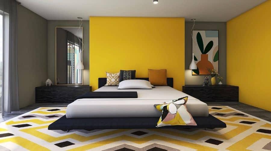 modern yellow bedroom ideas msdesignercompany