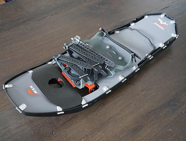 Modular Floatation Tails Msr Lighting Ascent Snowshoes