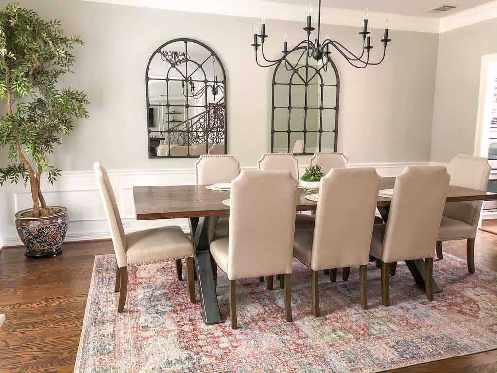 molding dining room wall decor ideas alidolkz