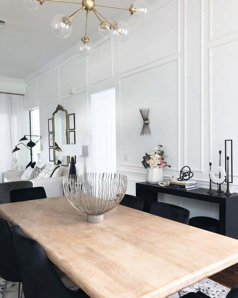 molding dining room wall decor ideas joyindecor