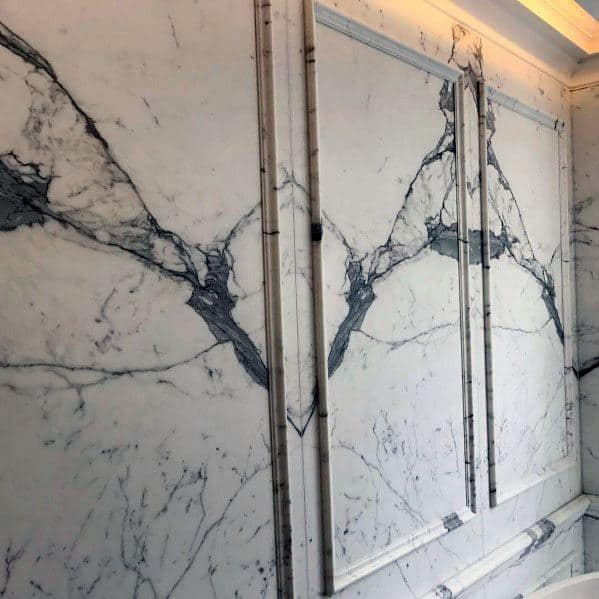 Molding Impressive Marble Bathroom Ideas