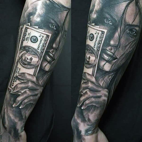 Money Sign Tattoos For Men