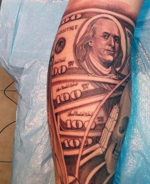 Money Tattoo For Men
