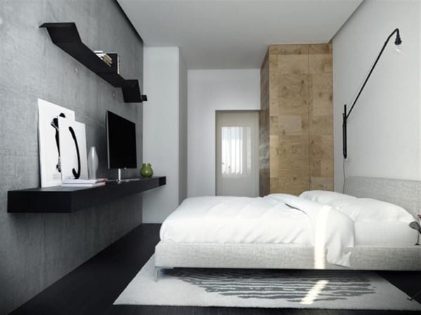 minimalist boho apartment bedroom ideas