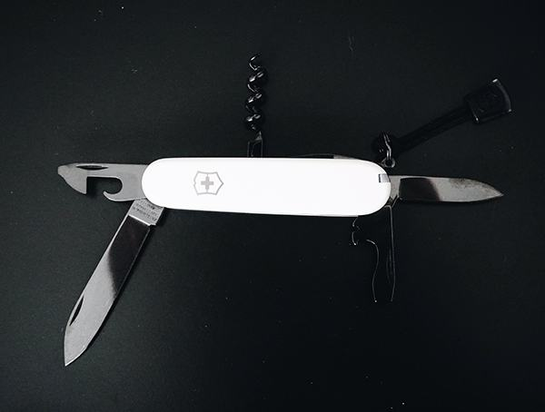 Monochrome Pocket Knife With Black Tools Victorinox Spartan Ps Review