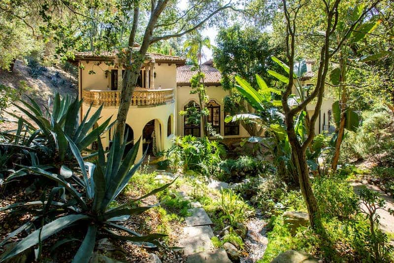Impressive Bel Air Estate with Zipline, Treehouse, and Hiking Trails Listed for $10.4 Million