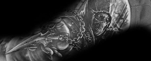 Mortal Kombat Tattoos For Men