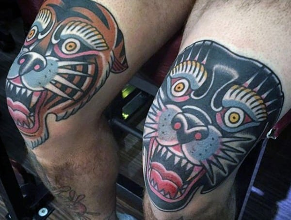 Most Painful Places To Get A Tattoo Knee