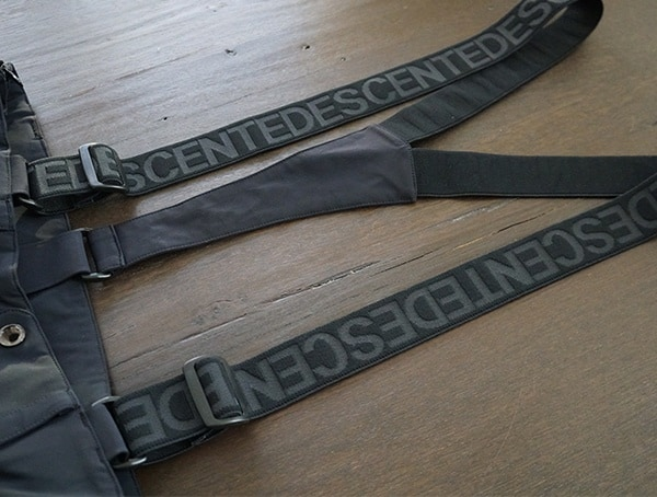 Motion 3d Fit Suspenders Descente Swiss Ski Team Pant For Guys
