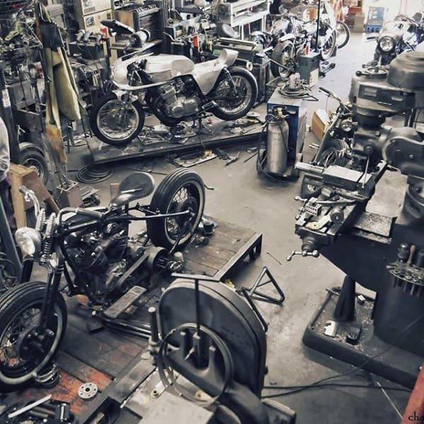 Motorcycle Work Shop Dream Garage Ideas