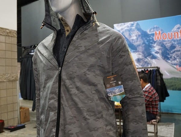 Mountain And Isles Camo Mens Shell Jacket