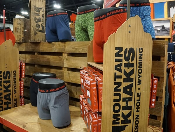 Mountain Khakis Mens Underwear Display