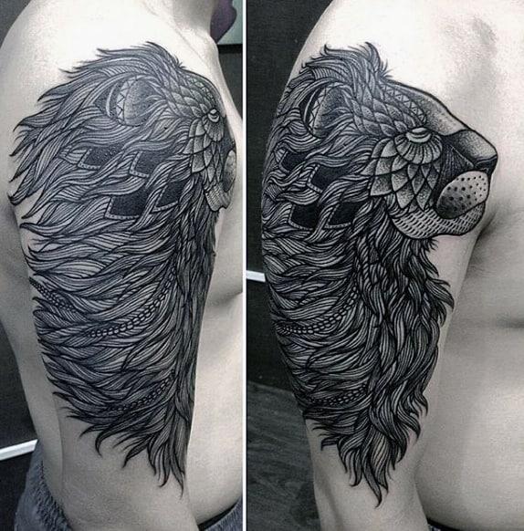 Mountain Lion Tattoo For Men