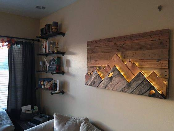 50 Bachelor Pad Wall Art Design Ideas For Men - Cool ...