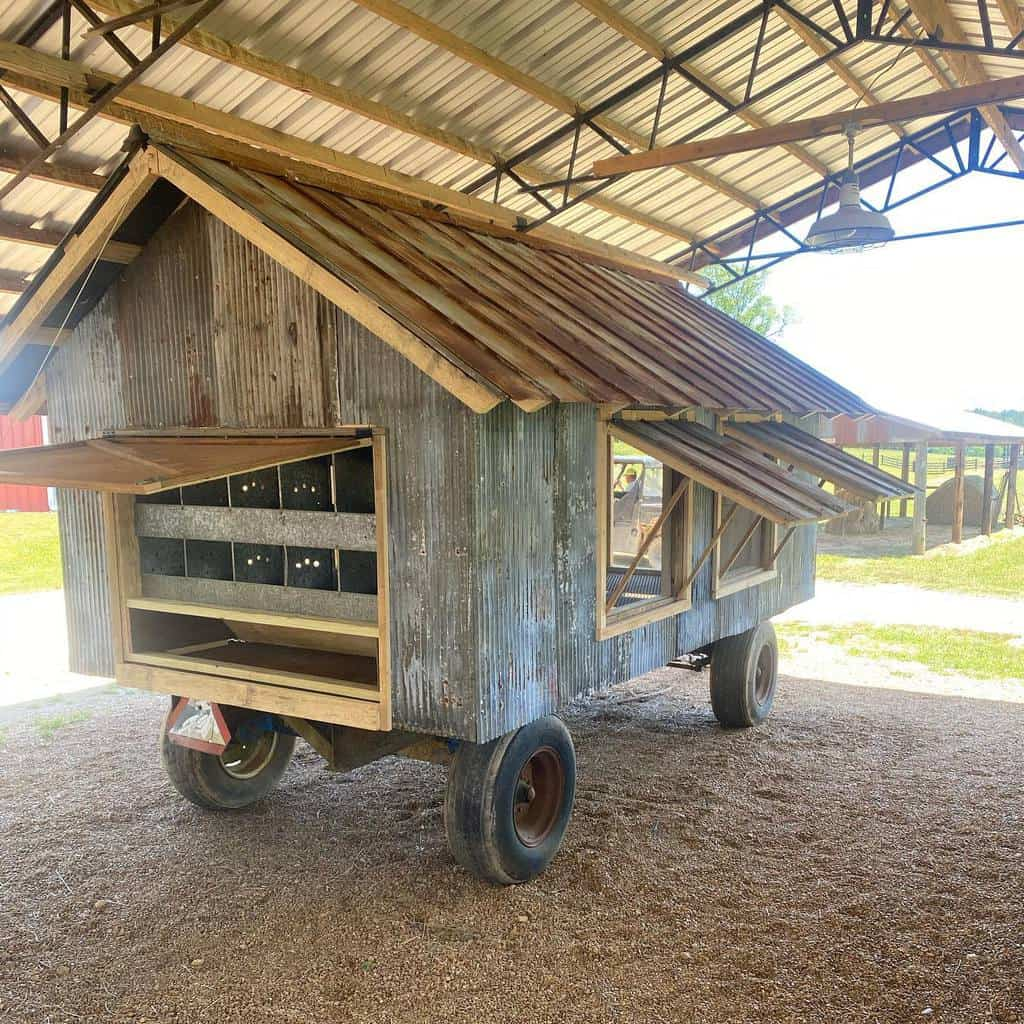 movable chicken coop ideas bennett_farms