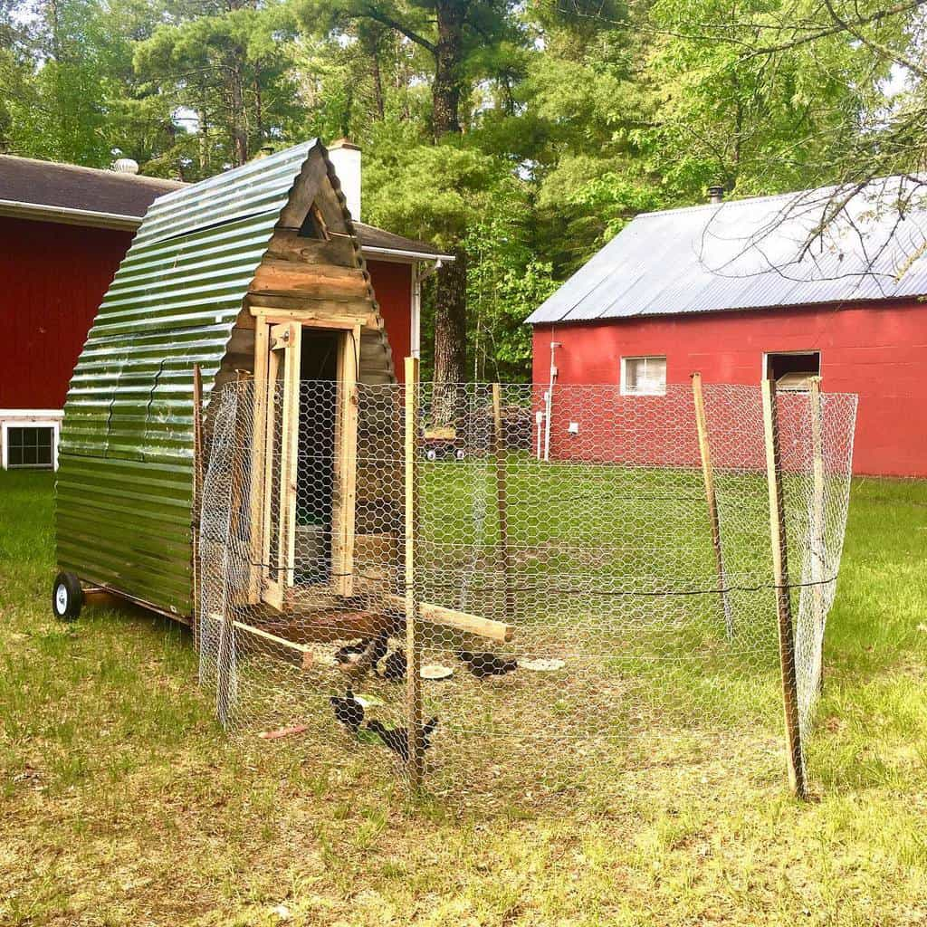 movable chicken coop ideas enger_grove