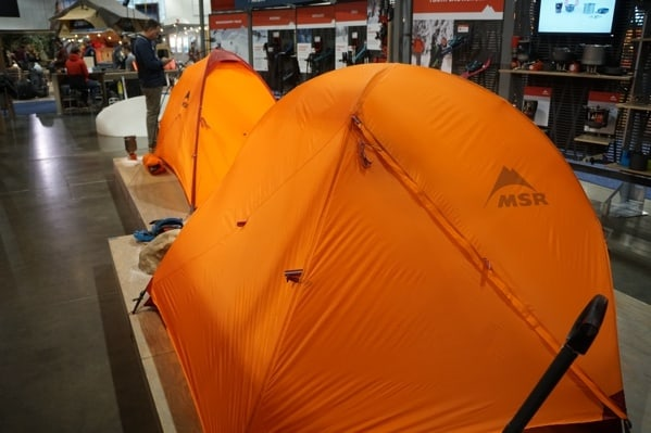 Msr Camping Tents Outdoor Retailer 2018