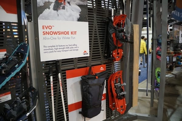Msr Evo Snowshoe Kit