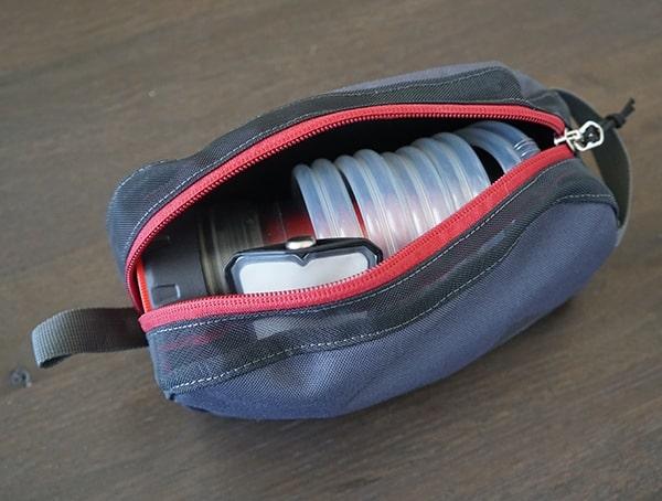 Msr Guardian Purifier Inside Of Portable Storage Bag