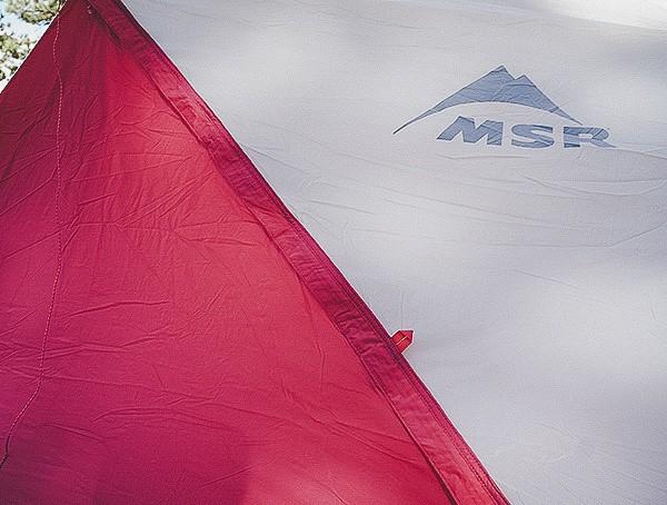 Msr Hubba Tour 3 Tent Closed Entrance Door
