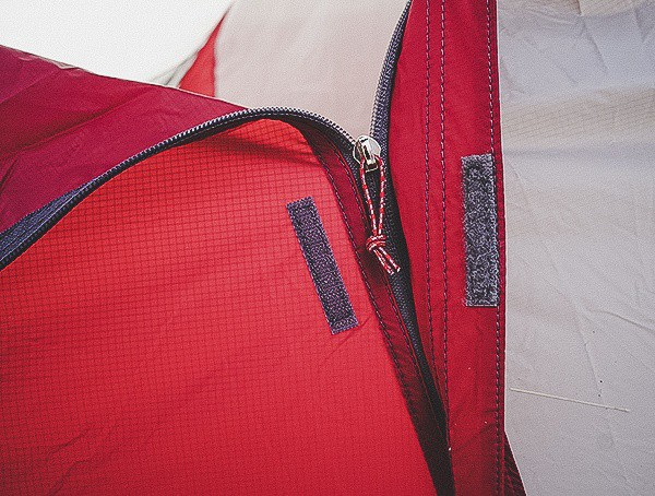 Msr Hubba Tour 3 Tent Exterior Zipper With Velcro Closure