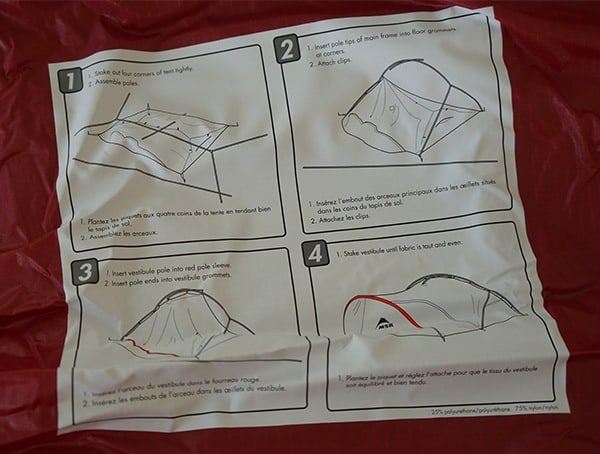 Msr Hubba Tour 3 Tent Instructions