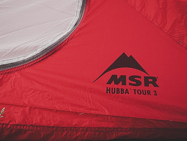 Msr Hubba Tour 3 Tent Printed On Tent