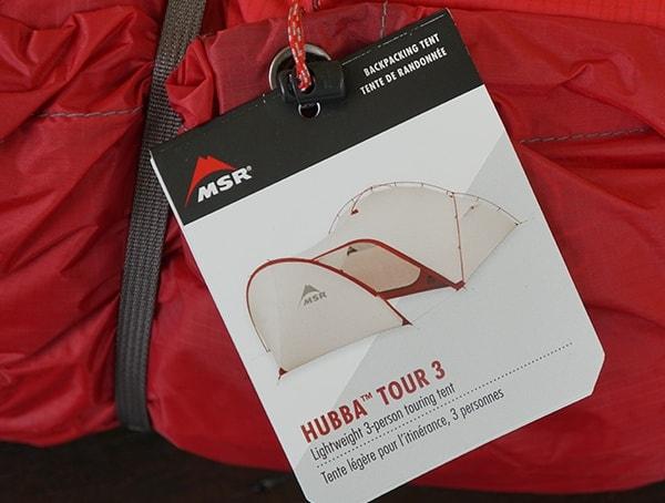 Msr Hubba Tour 3 Tent Tag