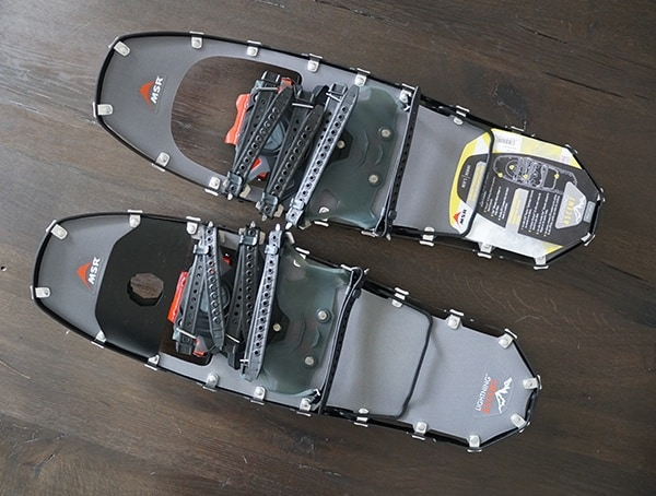 Msr Lighting Ascent Snowshoes Twenty Two Inches