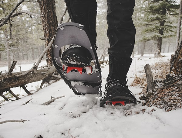 Msr Lightning Ascent Snowshoes Review In Deep Packed Snow