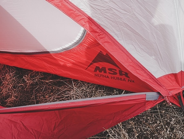 Msr Mutha Hubba Nx 3 Person Backpacking Tent Field Tested