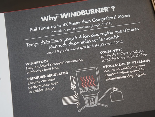 Msr Why Windburner Boil Times Up To Four Times Faster