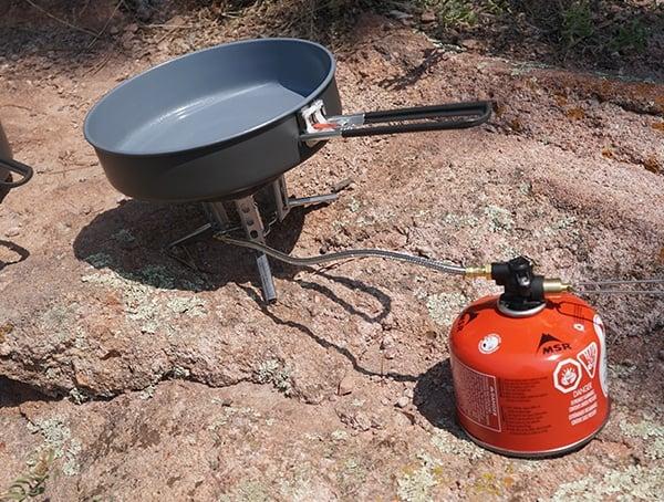 Msr Windburner Stove Skillet Outdoor Cookware Review
