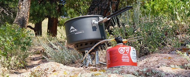 MSR Windburner Stove System Combo Review Windproof Cookware