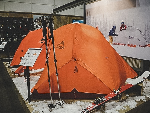 Msr Winter Tents Outdoor Retailer 2019