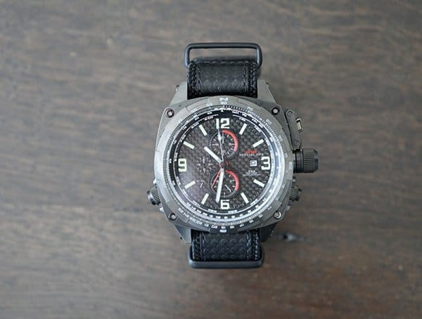 Mtm Special Ops Mens Cobra Military Tactical Pilot Chronograph Watch