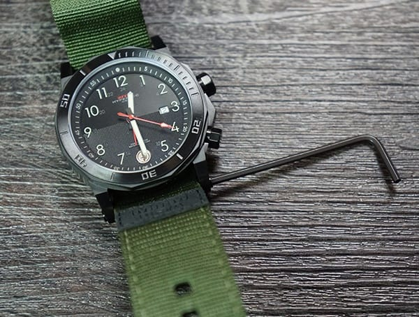 Mtm Special Ops Watches Mens Hypertec H 61 Review Removing Nato Strap
