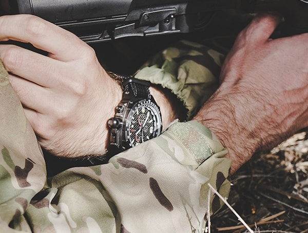 Mtm Watches Carbon Fiber Cobra Tactical Watch For Men Field Test Review