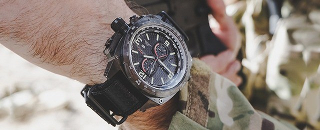 MTM Special Ops COBRA Military Men's Pilot Chronograph Watch Review