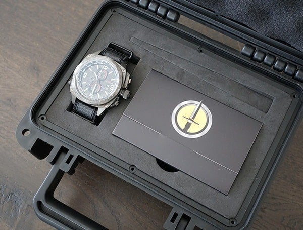 Mtm Watches Cobra Pilot Chronograph Watch For Men In Case