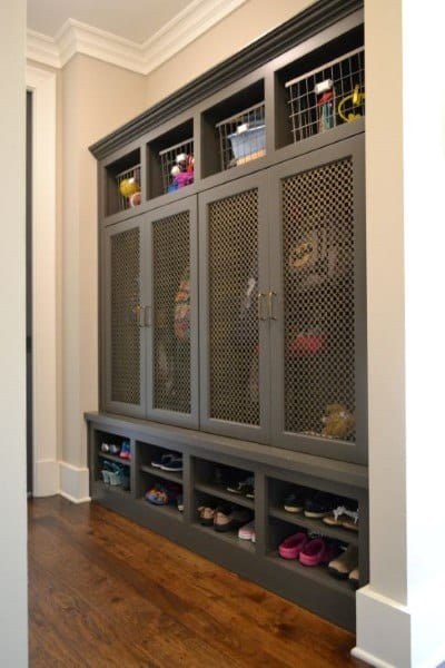 Mudroom Bench Designs