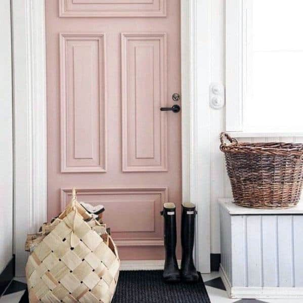 Mudroom Door Trim Interior Design