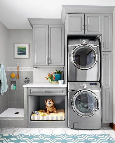 Mudroom Home Dog Wash Station Ideas