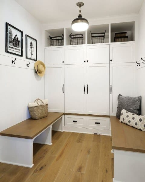 Mudroom Makeover Ideas