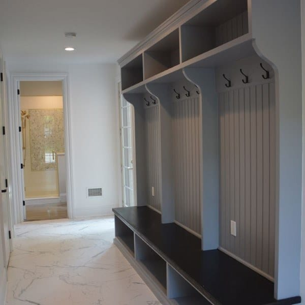 Mudroom Shelving Idea