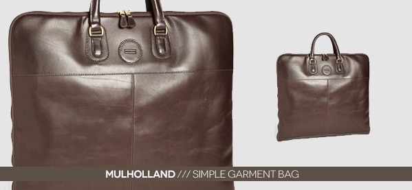 Mulholland Simple Garment Carry On Bag