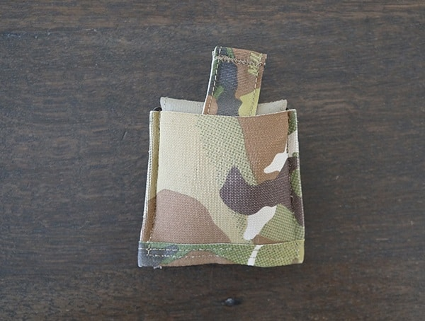 Multicam Blue Force Gear Belt Mounted Dump Pouch Compressed Pack