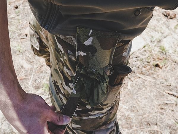 Multicam Blue Force Gear Belt Mounted Dump Pouch Review