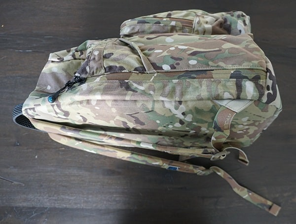 Multicam Blue Force Gear Tracer Pack Side View