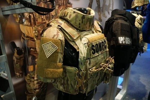 Multicam Body Armor Plate Carrier